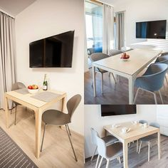 Tables, tables and tables. We made and delivered IN tables to Kalajoki Herrain Hiekat apartments collaboration with Nordic Home, Scandinavian Home, Interior Inspiration, Apartments, Collaboration, Ash, Tables, Dining Table, Furniture