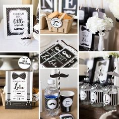Mustache Party Decorations Mustache Birthday by maydetails on Etsy