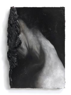 La Massa by Nicola Samori 2012, oil on wood, 30 x 21,5 x 7,5 cm