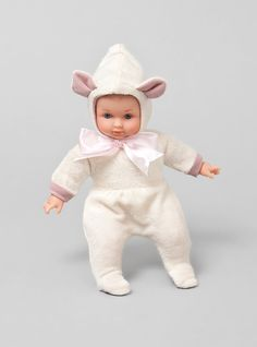 Couverture and The Garbstore - Childrens - Toys - Leo Petit Mouton Doll By Petitcollin