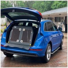 Audi Q5 (2017 - Present) Dog Car Travel Crate- The DT 4 About the Audi Q5 (2017 - Present) Dog Car Travel Crate- The DT 4 Our DT 4 model dog crate is the perfect box for the Audi Q5 (2017- Present). The DT 4 is a great box for estate cars, Jeeps and SUV's and comes in three size options. The largest one (960mm) has two compartments with enough room for two medium to large dog. This crate comes with a removable centre divider which frees up more space if you need it. Our other DT4's (660mm… Dog Transport, Pet Vet, Dog Crates, Stainless Steel Doors, Dog Car, Car Travel, Large Dogs, Jeeps, Your Dog