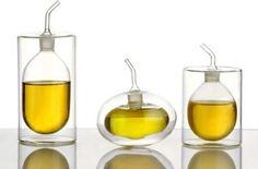 Double-walled Olive Oil/Vinegar Pourer