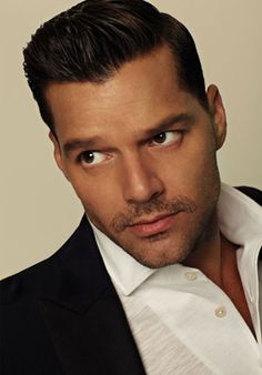 """It's been a long ride For Ricky Martin, but at 40, the """"Livin' La Vida Loca"""" singer has no time for regrets. He's too busy joking with the Dalai Lama and staying in shape with his secret workout. (Hint: He bangs.)  Interview by Mickey Rapkin, Photograph by Bruno Staub-March 2012 Issue"""