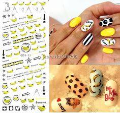 $0.50 (Buy here: https://alitems.com/g/1e8d114494ebda23ff8b16525dc3e8/?i=5&ulp=https%3A%2F%2Fwww.aliexpress.com%2Fitem%2FDS023-Golden-New-2015-Nail-Diy-Art-Tips-Decoration-Sticker-Nails-Wraps-Styling-Glitter-Banana-Cute%2F32447835824.html ) DS023 Golden New 2017 Nail Diy Art Tips Decoration Sticker Nails Wraps Styling Glitter Banana Cute Water Transfer Sticker for just $0.50