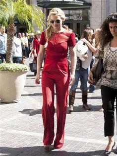 Jennifer Morrison flirty red carpet fashion,