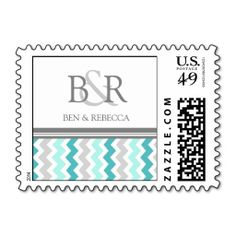 ==>>Big Save on          	Grey Teal Chevron Monogram Wedding Stamps           	Grey Teal Chevron Monogram Wedding Stamps in each seller & make purchase online for cheap. Choose the best price and best promotion as you thing Secure Checkout you can trust Buy bestHow to          	Grey Teal Chevr...Cleck Hot Deals >>> http://www.zazzle.com/grey_teal_chevron_monogram_wedding_stamps-172022444209044353?rf=238627982471231924&zbar=1&tc=terrest