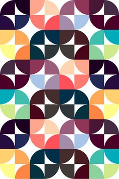 Gorgeous patterns by Graphic Nothing (via modish) Instead of block primary colours, each category could have colour palette like those grouped here. Some kind of texture/iconography could be incorporated in each band, eg gears, leaves, people.