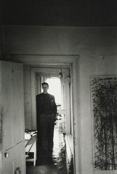 Saul Leiter Painter Richard Pousette-Dart, New York City c.1947