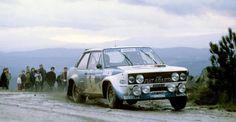 ra Walter Rohrl - Christian Geistdorfer-Fiat 131 Abarth Gr.4-Vinho do Porto Rallye de Portugal 1980