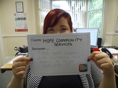 @HopeCommunityServices #ILoveSmallCharities @SCWeek2015