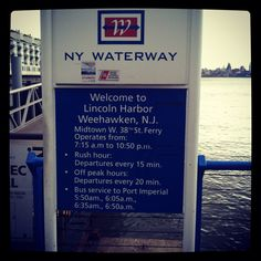 NY Waterway Ferry Lincoln Harbor