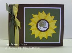 """stampin up bird punch ideas 