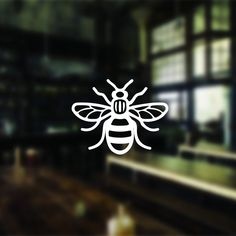 Manchester's symbol, the worker bee. Today we're seeing it swarm. Get your free Manchester Bee Sticker today. Limited availability.