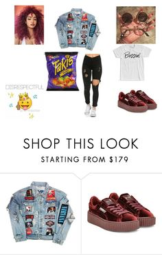"""""""Regular"""" by amariaprice ❤ liked on Polyvore featuring Puma"""