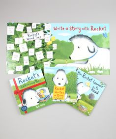 Look what I found on #zulily! Rocket's Learning Box Hardcover Set by Random House #zulilyfinds