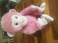 Found on 20 Jul. 2016 @ Melcombe Avenue. Found - Pink cuddly monkey! Was lying on the pavement near Weymouth Methodist Church on Melcombe Avenue, maybe when a family were walking to/from the beach in Greenhill. Visit: https://whiteboomerang.com/lostteddy/msg/zkpcfd (Posted by Connor on 25 Jul. 2016)