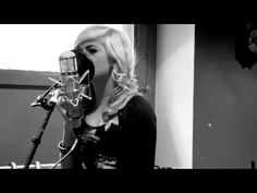 """Pixie Lott definitely adds a soulful quality to """"Use Somebody"""" with this acoustic version (original by Kings Of Leon)"""