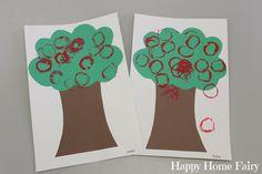 Easy Apple Tree Craft - Happy Home Fairy