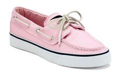 Sperry Top-Sider - Women's Bahama in Pink. There isn't enough pink in my wardrobe:-)
