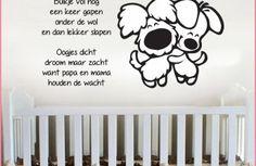 woezel-en-pip-babykamer-muurstickers-kinderkamer-zwart-wit-grijs