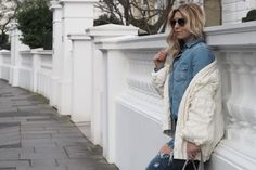 For Love and Lemons knitted cardigan, as seen on SpottedonCeleb.com, worn with One Teaspoon ripped jeans, Chanel Sneakers, a grey Chanel Classic Flap Bag and Dior sunglasses.