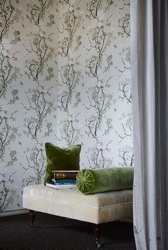 My new Wallpaper, Mademoiselle, By Helene Blanche