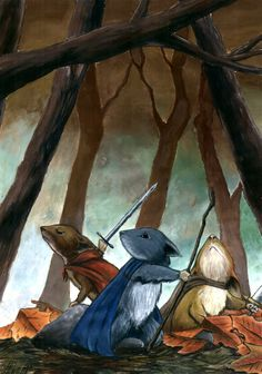 Mouse Guard Lieam, Kenize and Saxon by on DeviantArt Novel Characters, Cute Characters, Fantasy Characters, Character Concept, Concept Art, Fantasy Art Landscapes, L5r, Fantasy Setting, Animal Sketches