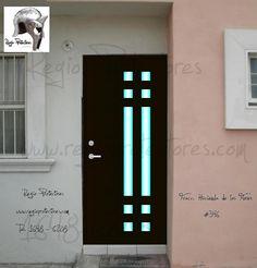Casa on pinterest puertas principal and google for Modelos de puertas principales de fierro