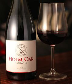 Let's face it. #Tasmanian #PinotNoir almost never fail to impress. This one from @holmoak Pinot (2014) lives up to that reputation.  Bright red juicy fruit and acidity but with a very subtle earthiness and spice on the end. Despite the fruitiness it is complex and layered.  A bright and bouncy party girl who turns out to be better read than you. She's read Proust and you... well you can't even name one thing that Proust has written.  #wine #winelover #winetasting #winestagram #instawine…