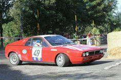 Lancia Montecarlo en pleno Rallye Legend.