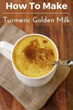 I recently heard about turmeric golden milk and have been making it ever since. I love the taste of it and love the benefits even more. Try this golden milk recipe and let me know if you love it too!
