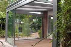 Glass Enclosed Patio Outdoor Spaces Pinterest