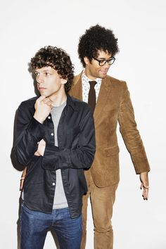 The Double act: Richard Ayoade and Jesse Eisenberg team up for Dostoevsky adaptation