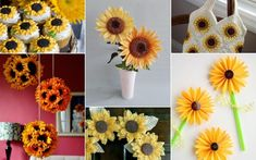 Sunflower Craft Ideas Hello there, craft lovers! Guess what? We are turning our houses into sunflower fields today! Do you want to join us? #sunflower #sunflowercraft #sunflowerdecor #summerdiy #crafttutorials Craft Tutorials, Craft Ideas, Sunflower Crafts, Home Crafts, Diy Crafts, Sunflower Fields, Summer Diy, Turning, Join