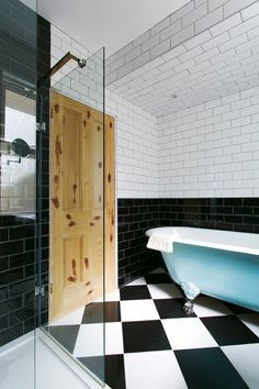 Mix Up Your Look with Black Subway Tile