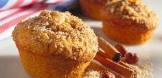 I muffin alla cannella sono la ricetta perfetta per scaldare l'autunno e renderlo goloso.