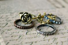 Ravenclaw house rings