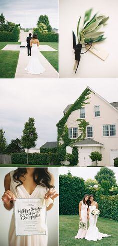 The Chicest Fourth of July Wedding Ever