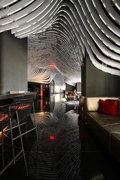 W New York Downtown Hotel and Residences designed by Gwathmey Siegel & Associates, interior design by Graft