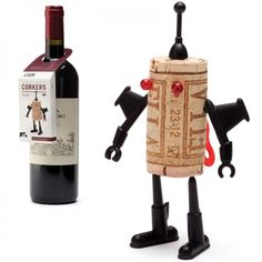 Korken-Roboter Corkers Robots, Yuri - Monkey Business #cork #robot