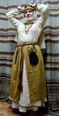 Costume Eastern Slavs: Radimichi, 11 се. Фотографии Историко-культурный клуб «Радзiмiчы» | 5 альбомов