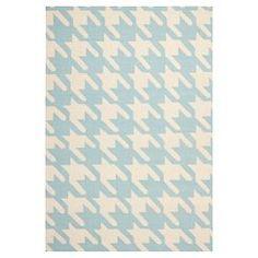 Safavieh Madaket Flatweave Area Rug - Light Blue/Ivory (6'x9')