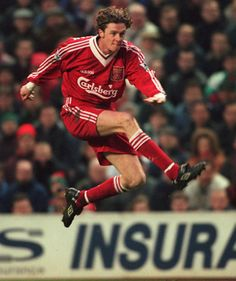 Steve McManaman - right wing (Liverpool God Of Football, Best Football Team, Retro Football, Football Soccer, Fc Liverpool, Liverpool Football Club, Bristol Rovers, This Is Anfield, Beatles