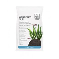 Tropica Aquarium Soil is a complete and active bottom layer