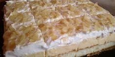 ledene kocke — Coolinarika - My site Russian Pastries, Sour Cream Sauce, Cake Bars, Appetizer Plates, Russian Recipes, Seafood Dishes, Pavlova, Tasty Dishes, Breakfast Recipes