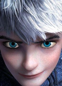 his beautiful eyes <3 Des anyone notice the freaking SNOWFLAKE outlining his iris?!? :D GAHHHHHHH