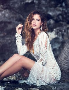 » Barbara Palvin in Salt and Sand