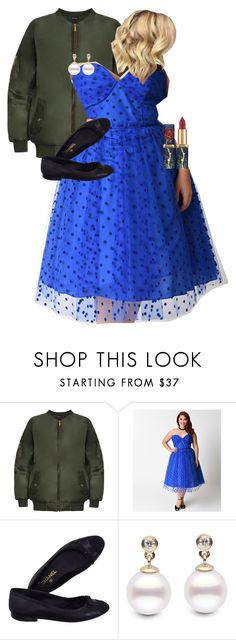 """""""Amelia Jones (High School AU;Prom)"""" by shaebutter ❤ liked on Polyvore featuring WearAll, Chanel and plus size dresses"""