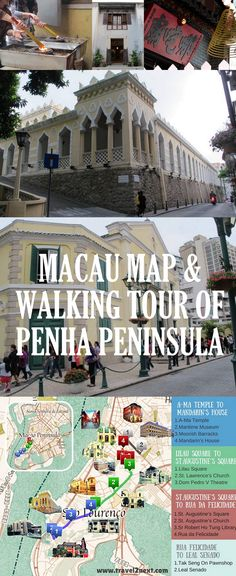 Macau is the only place on earth that combines the traditions, architecture and cuisines of both China and Portugal.