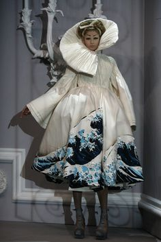 christian dior haute couture 2007. The wave jacket.